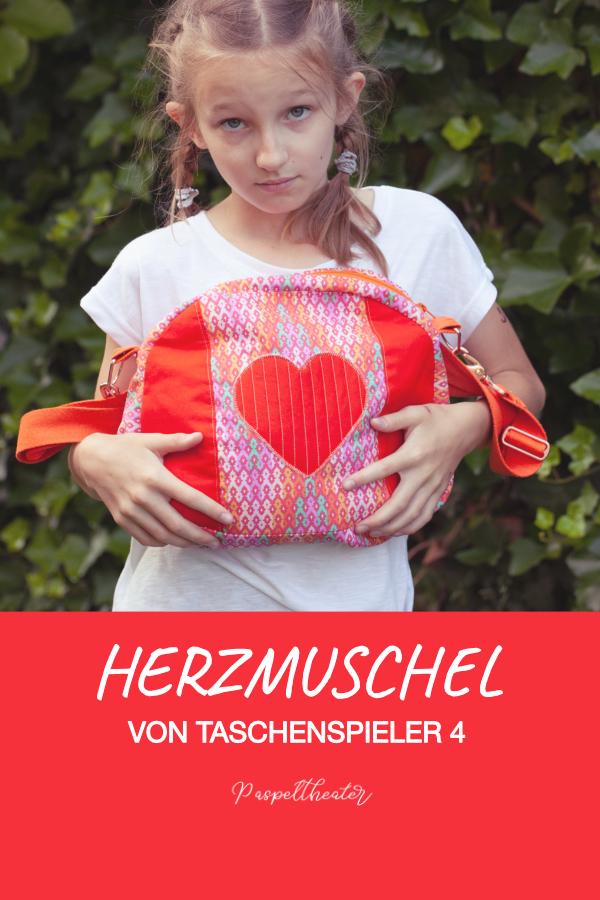 HerzMuschel von Taschenspieler 4 Farbenmix