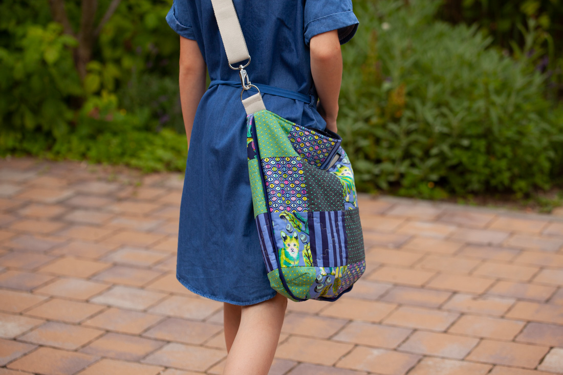 Patchwork Trail Tote Bag