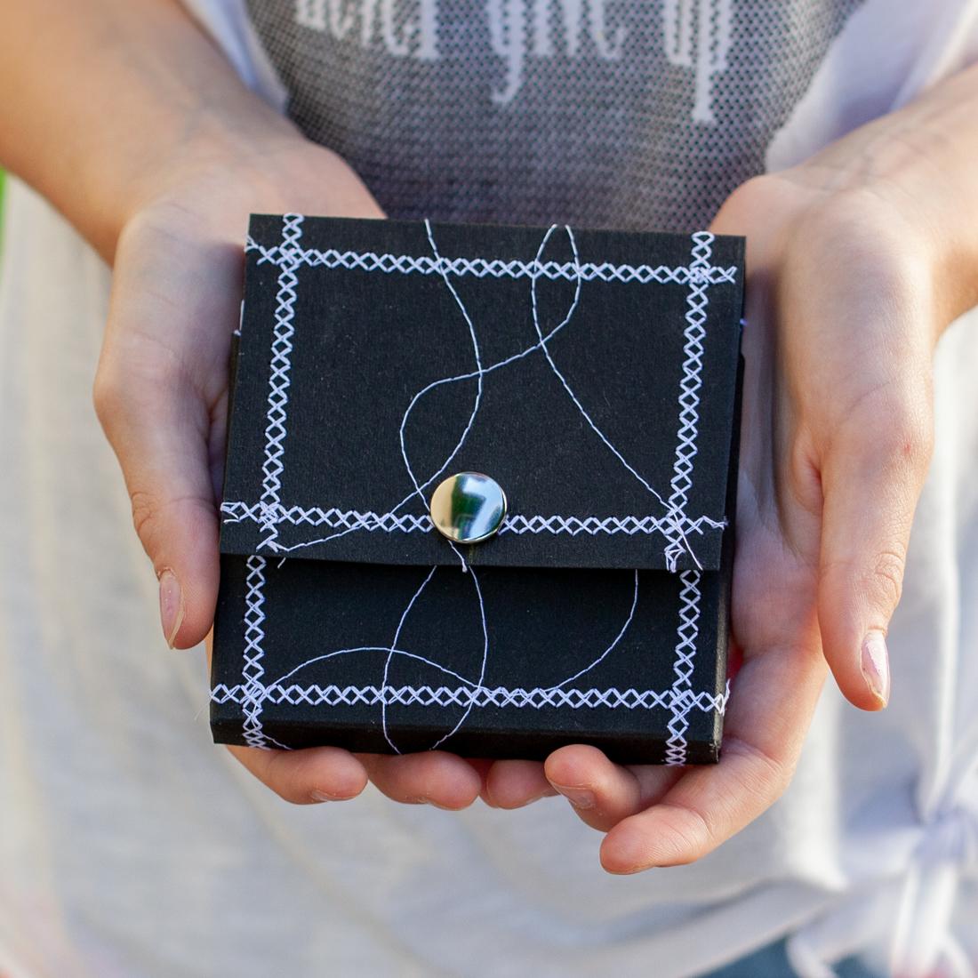 Zentangle Aufbewahrungsbox aus Snap Pap