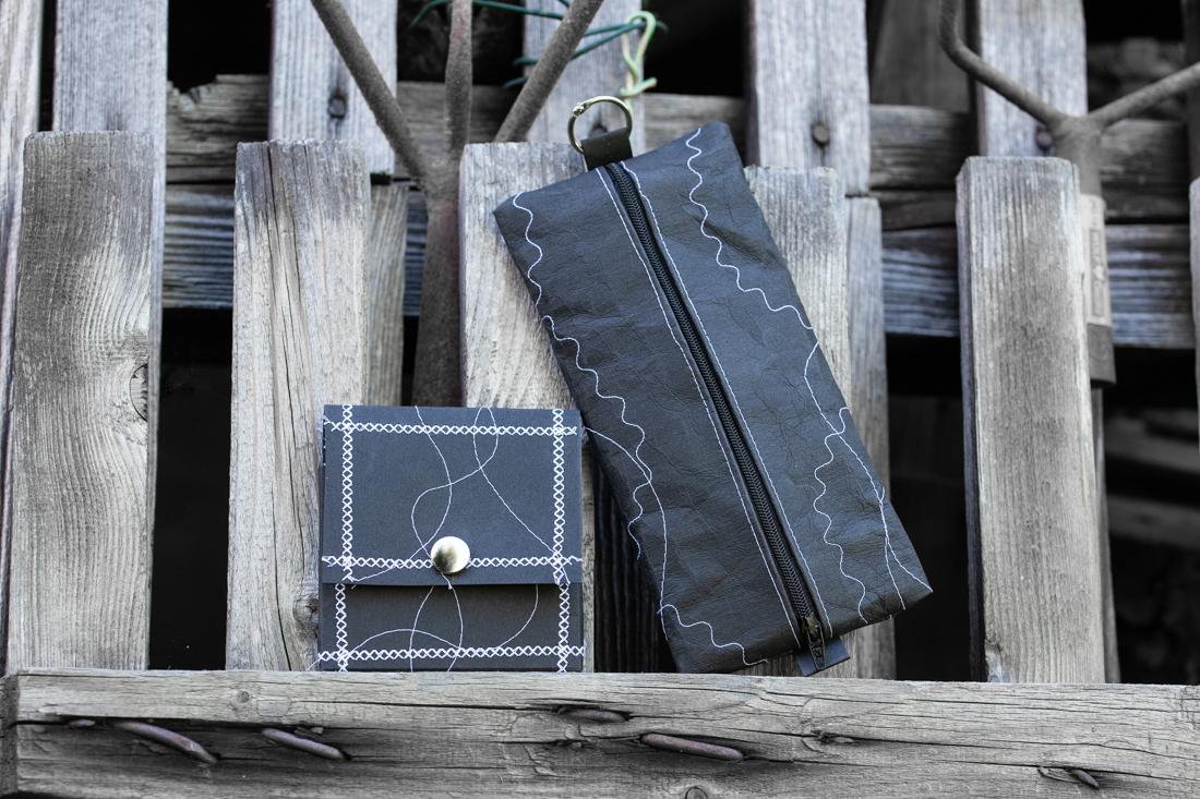 Schüttelpennal und Box aus Snap Pap