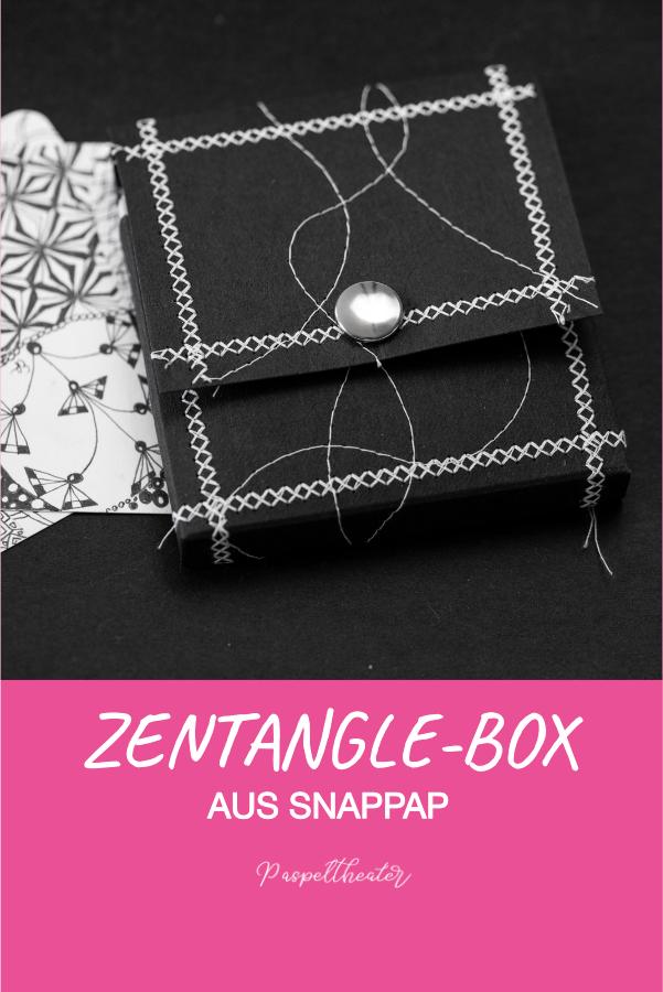 Zentangles Box aus SnapPap