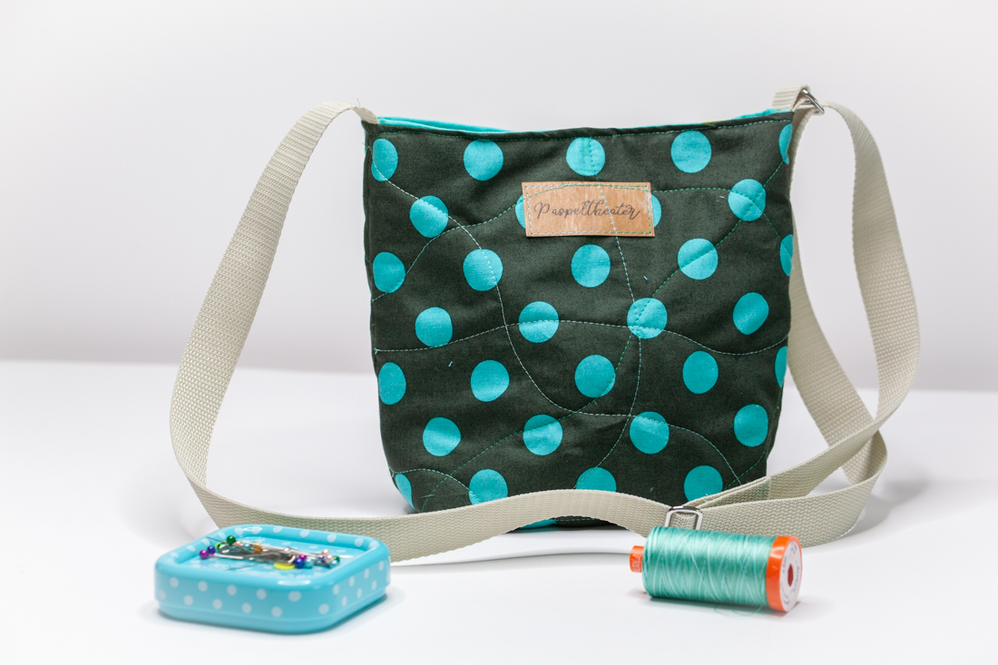 Einfache Tasche nähen - Nähanleitung für Anfänger