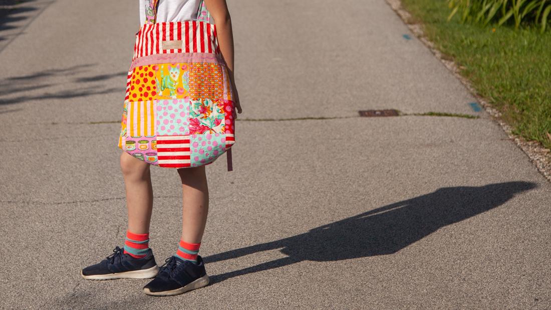 Patchwork Tasche mit Anleitung zum Nachnähen