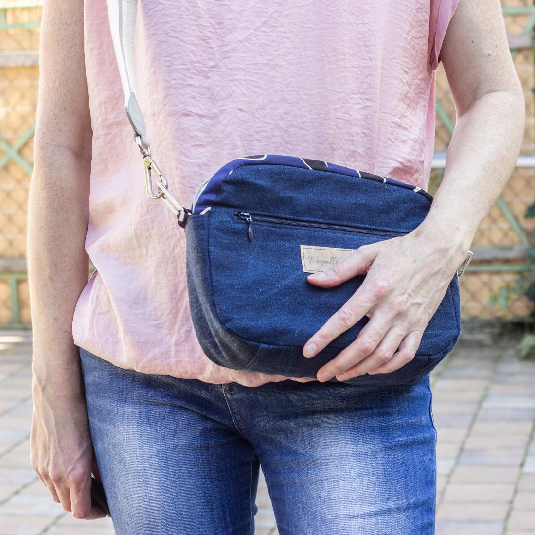 Cambag Tessa in XL - Stylische Tasche nähen aus stylisher Hose